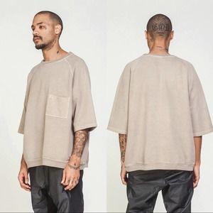 Yeezy Season 3 Short Sleeve Sweatshirt Size Small